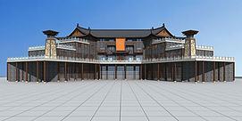 3d博物馆模型