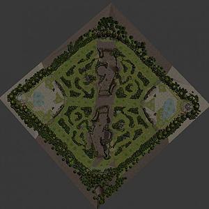 lol地圖三張模型3d模型