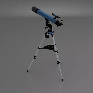 天文望远镜3d模型