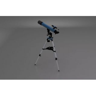 天文望远镜3d模型3d模型