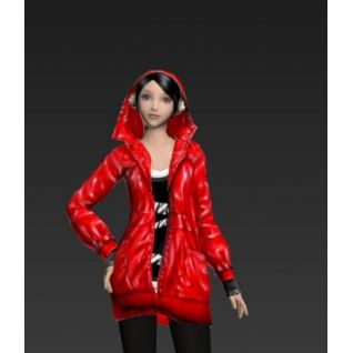 漂亮的女孩3d模型