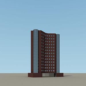 3d现代建筑<font class='myIsRed'>大楼</font>模型