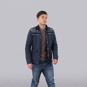 3d年轻男人模型