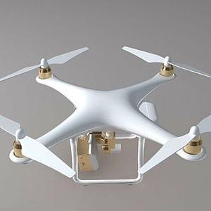 精灵  4 大疆无人机模型