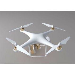 四轴无人机3d模型