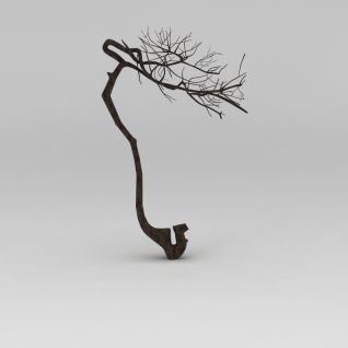 树枝3d模型3d模型