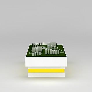 沙盘3d模型3d模型