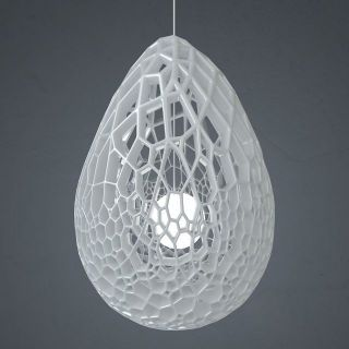 创意镂空吊灯3d模型