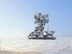 太湖石模型3d模型