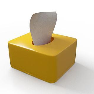 抽纸盒3d模型