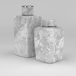 日用品瓶子3d模型