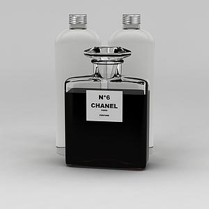 香奈儿五号香水模型