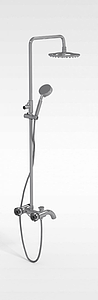 3d淋浴器模型