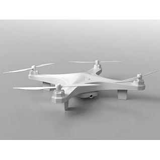 录像飞行器3d模型