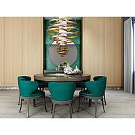 现代高档餐桌椅3D模型3d模型