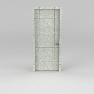 石纹门3d模型