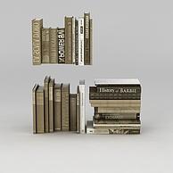 外文书籍3D模型3d模型