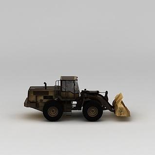 推土机3d模型3d模型