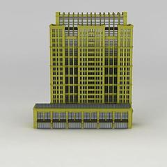 楼房建筑3D模型3d模型
