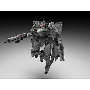 机甲3d模型