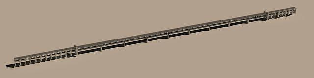 武漢長江大橋3d模型