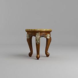高档欧式凳模型
