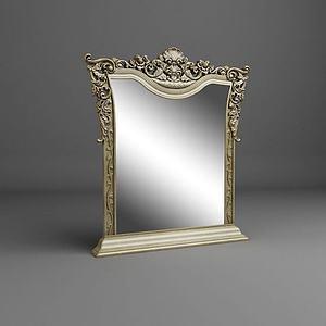 精美欧式镜子模型
