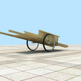 平板车模型