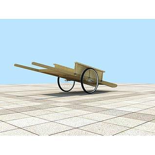 平板车3d模型