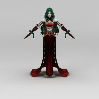 创世西游游戏角色3d模型3d模型