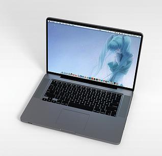 3dthinkpad超薄笔记本电脑模型
