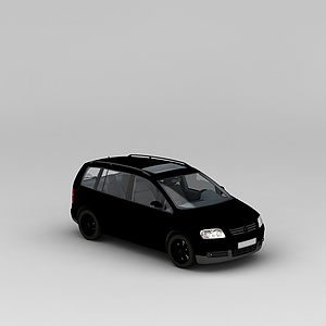 3d商务车模型