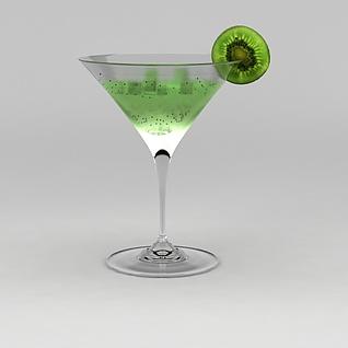 果汁饮料3d模型