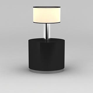 边几台灯3d模型3d模型
