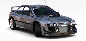 3d高档黑色<font class='myIsRed'>汽车</font>模型