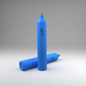 氧气瓶模型