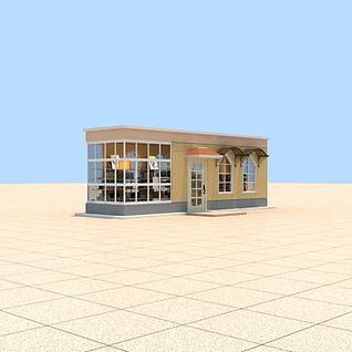 创意书屋3d模型