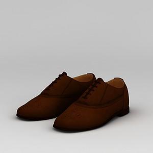 紅色女鞋模型