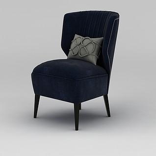 简约美式沙发3d模型3d模型