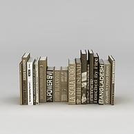 字典书籍3D模型3d模型