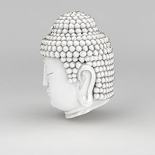 陶瓷佛像3d模型3d模型