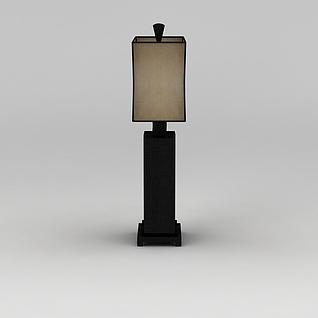 中式庭院灯3d模型