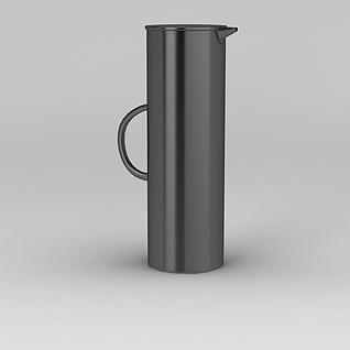铁艺茶壶3d模型