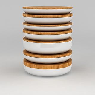 饭盒3d模型