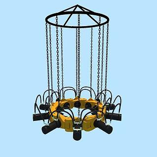 液压破桩机3d模型