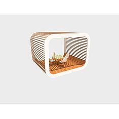 创意休闲亭3D模型3d模型