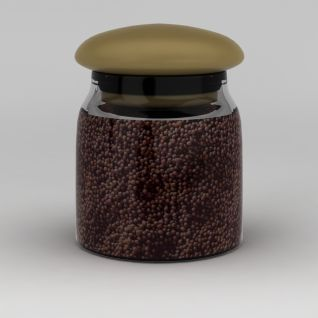厨房储物罐3d模型
