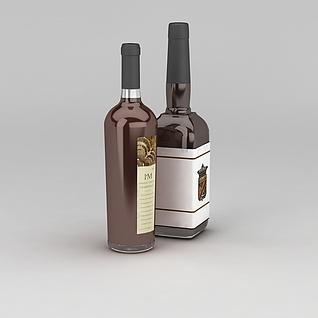 酒3d模型3d模型