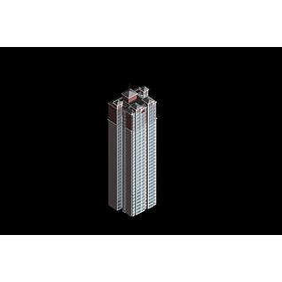 高层住宅建筑3d模型