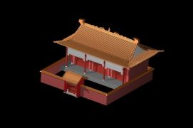 <font class='myIsRed'>古建筑</font>宫殿3d模型